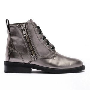 Abound Pewter Metallic Seymor Ankle Festival Boots